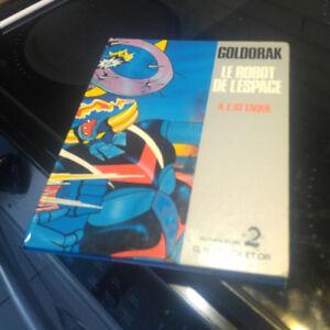 Ancien Livre GOLDORAK, Le Robot de l'Espace (1978)