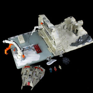 STAR WARS Micro Machines Hoth Rebel Base Playset w/ Figures
