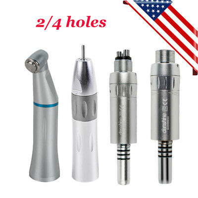 Dental Inner Water Spray Low Speed Handpiece Contra Angle Straight Motor Fit Nsk