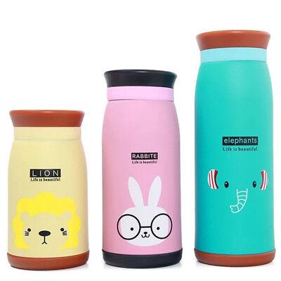 Kids girl Cartoon Stainless Steel Vacuum Thermal Mug Thermos Cup Water Bottles](Kids Water Bottles)