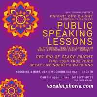 VOICE COACH: Public Speaking Lessons - Get Rid of Stage Fright!