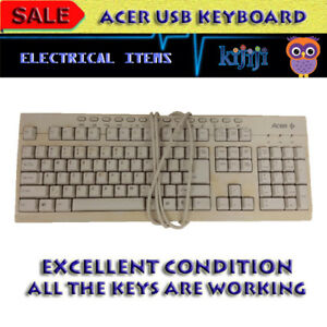 ACER KEYBOARD WITH USB CONNECTION