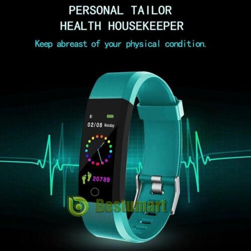 Fitness Smart Watch Activity Tracker Women Men Kid Fits Andr