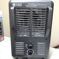 HEATER, UTILITECH BRAND, LOWES, ALMOST NEW!