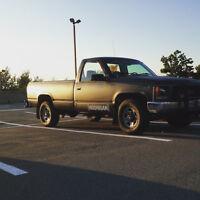 1988 gmc 1500 4x4 5speed 350