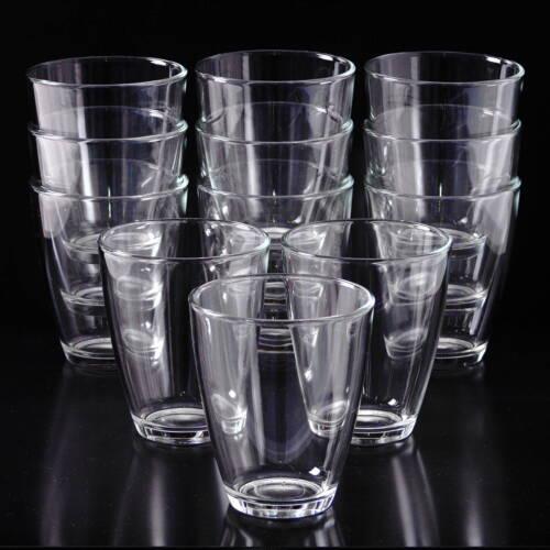 Wassergläser 12 wassergläser stapelbar 400ml glas trinkgläser wasserglas
