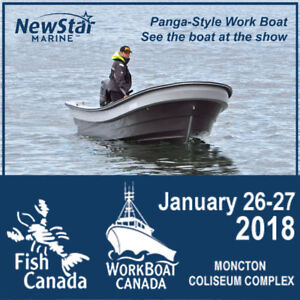 See Panga-Style Work Boat -For FREE Tickets to Show -NB
