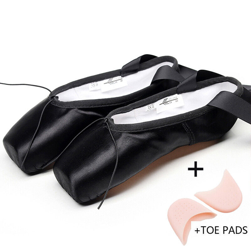 Satin Black With Toe Pads