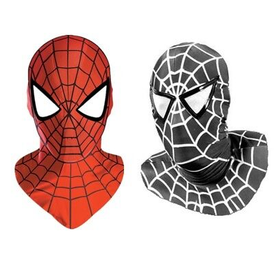 Halloween-spiderman (Halloween Spiderman Mask Cosplay Costume Zentai Lycra Spandex Party HIGH QUALITY)