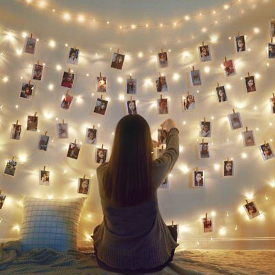 50/100/150 LED String Copper Wire Fairy Lights Battery Powered Warm White White
