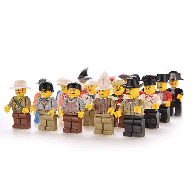 Pack of 20Pcs Mixed Minifigures Toys Figures Men People Minifigs Small Cute