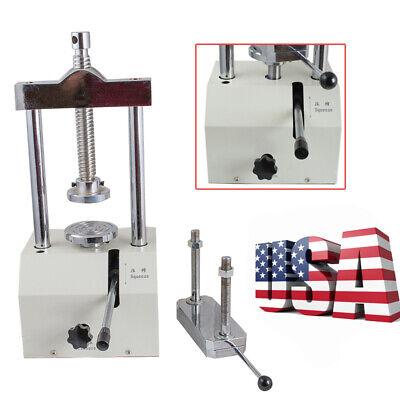 Dental Lab Hydraulic Press Flask 2t Presser Pressure Lifting Dentistry Equipment
