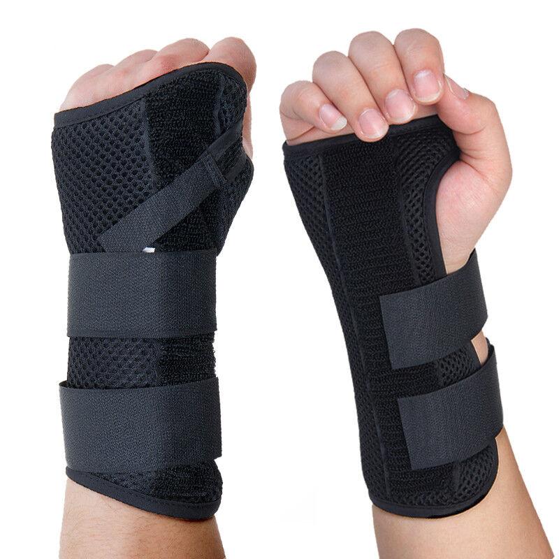 Wrist Hand Braces Carpal Tunnel Support Splint Arthritis Spr