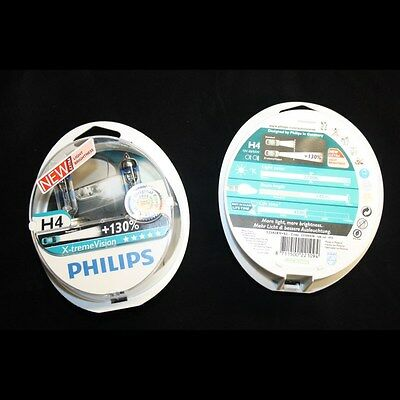 Gebraucht, Glühlampe X-treme Power H4 Original VW Audi universal Philips 130% Vision gebraucht kaufen  Erfurt