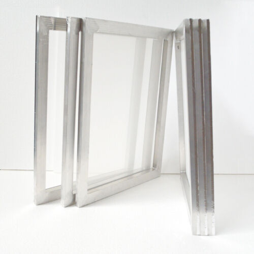 """6 pcs  20"""" x 24"""" Aluminum Screen Frame with 120 Mesh Stretched Fabric Print Tool"""