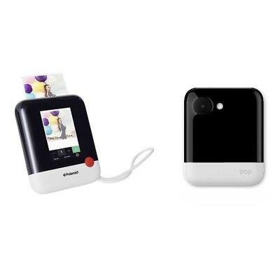 "Polaroid Digitale Sofortbildkamera POP 20 Mio Pixel 3.97"" Zoll in Weiß NEU OVP"