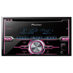 Pioneer CD/MP3 Car Stereo with Bluetooth FH-720BT, New
