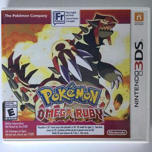Pokemon Omega Ruby Nintendo 3DS Bonne Condition