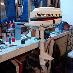 Johnson 2hp Outboard Motor, mint condition!