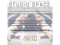 Studio Space within a Yoga Studio/Wellness Hub