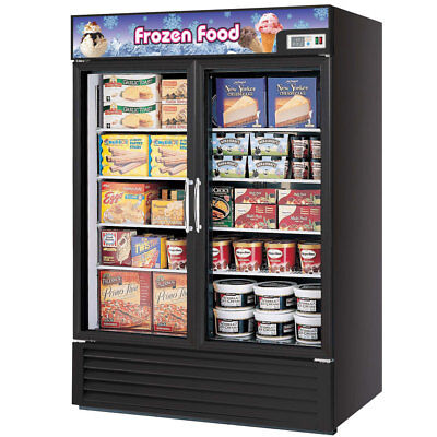 Turbo Air 2 Glass Door Commercial Freezer Nsf Tgf-49f
