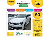 Volkswagen Polo 1.2 TSI ( 105ps ) 2013MY R-Line FROM £36 PER WEEK.