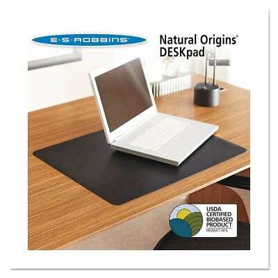 Es Robbins Natural Origins Desk Pad 38 X 24 Matte Black 012544014672