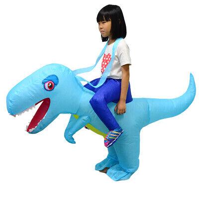 Weihnachtsgeschenk Dinosaurier aufblasbare Kostüm für Kinder Halloween - Aufblasbare Dinosaurier Halloween Kostüm