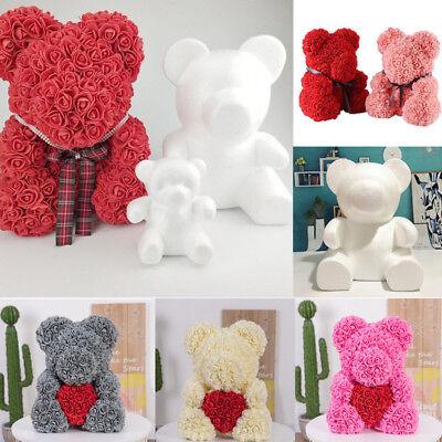 15cm/20cm Embryo Foam Bear Mold For Handmade Crafts DIY Christmas Gift Decor ()