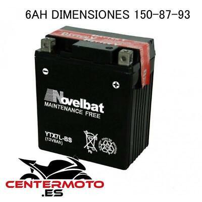 Bateria NOVELBAT YTX7L-BS 12V 6Ah   BTX7L-BS   btx7lbs   Moto  ...