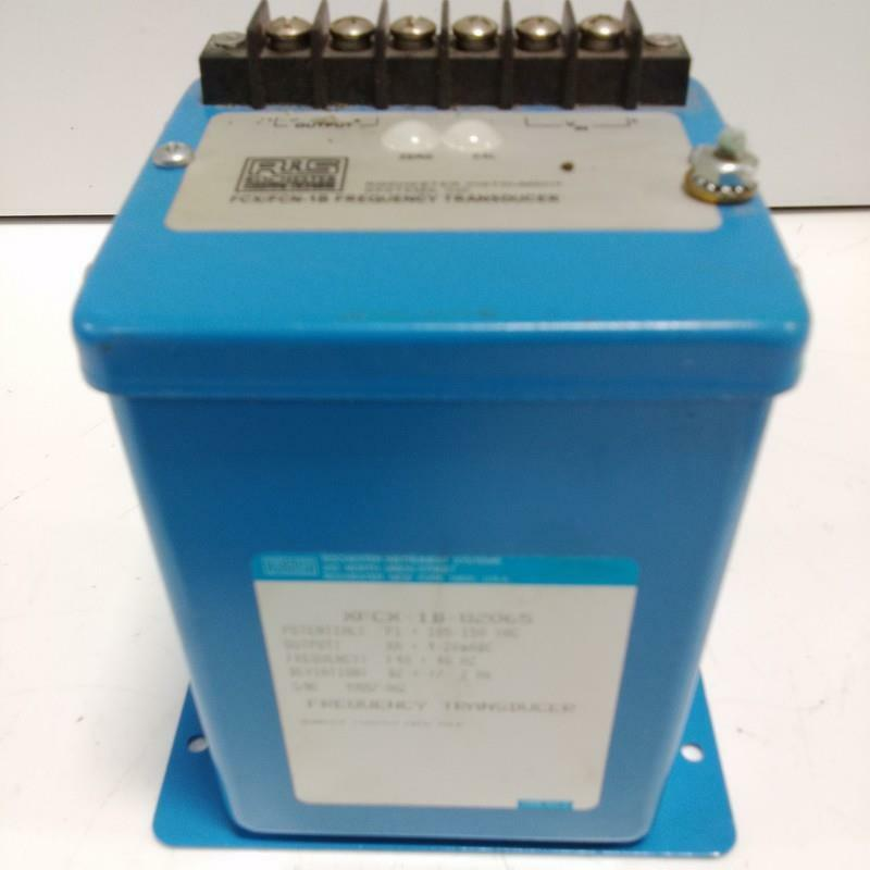 ROCHESTER INSTRUMENT SYSTEMS FREQUENCY TRANSDUCER XFCX-1B-82065