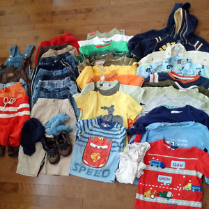 Huge lot of boys 2T/3T clothes (40+ items!)
