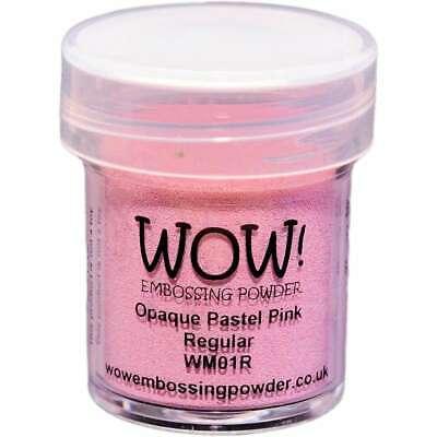 WOW! Embossing Powder 15ml Pastel Pink 499994772701