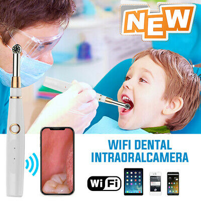 Oral Dental Intraoral Camera Hd 720p Ip67 Wifi Endoscope Teeth Mirror Wireless