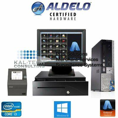 Aldelo Pro Pizza Restaurant Bar Bakery Complete Pos System I34gb New 5yr Warran