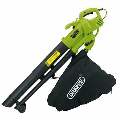 Draper 82104 Garden 3 in 1 3000W Vacuum Leaf Grass Blower and Mulcher Sucker