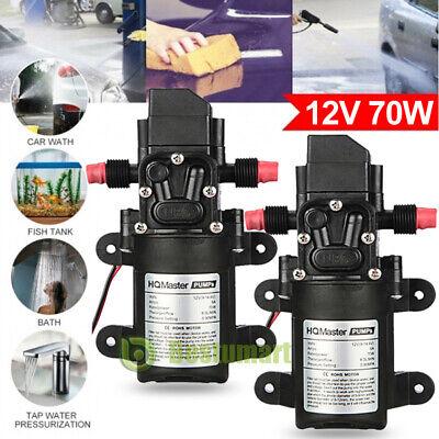 2x12v Water Pump Diaphragm Self Priming Sprayer Marine High Pressure Auto Switch