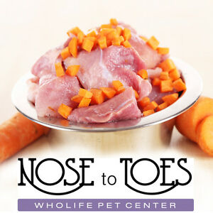 Natural Raw Dog Food at Nose to Toes