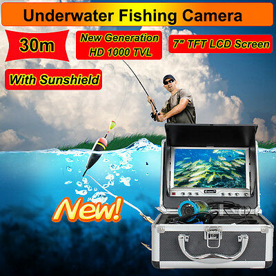 "Eyoyo Anti-Sunshine 30M  Fish Finder Underwater Fishing 7"" 1000TV camera"