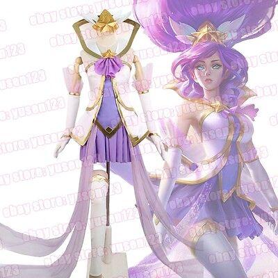 League of Legends Star Guardian Janna Storm's Fury Halloween Cosplay Costume  (Furies Halloween Costume)
