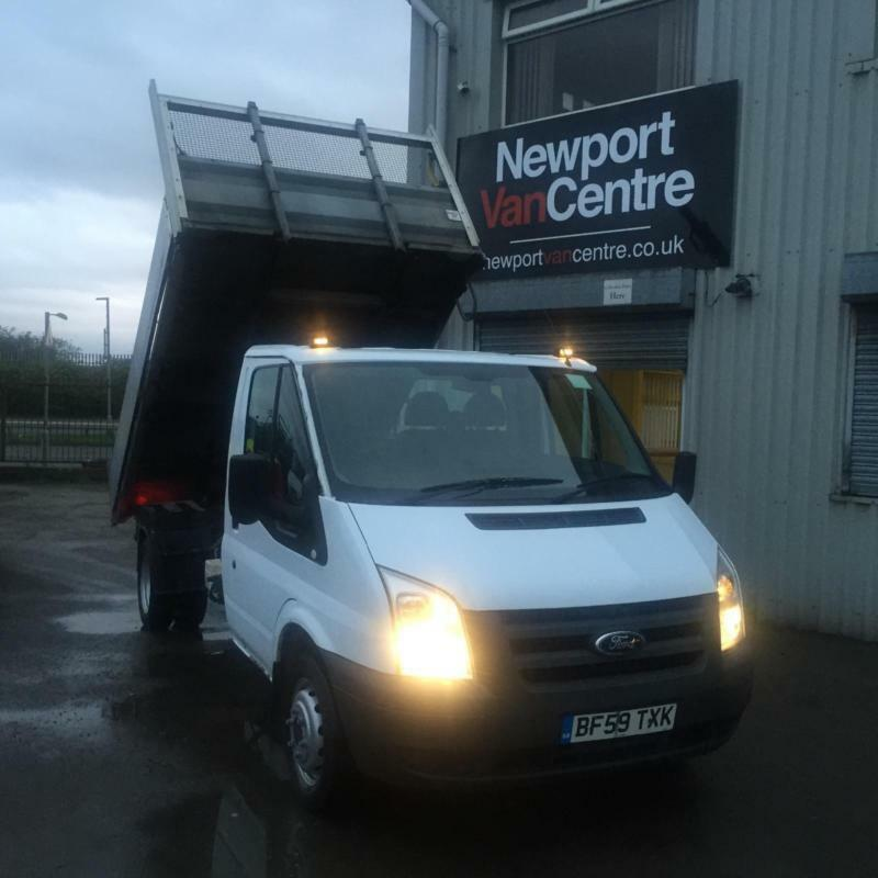 13 Ford Transit 2 2tdci Luton 13 6 Tail Lift: 2009 FORD TRANSIT TIPPER 2.4TDCi Duratorq ( 100PS ) ( DRW
