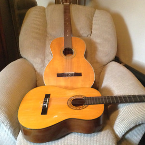 2 old Classical guitars to trade