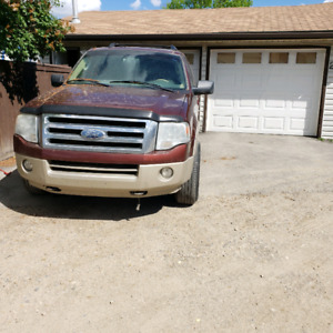 2007 Ford expedition Max (salvage title)