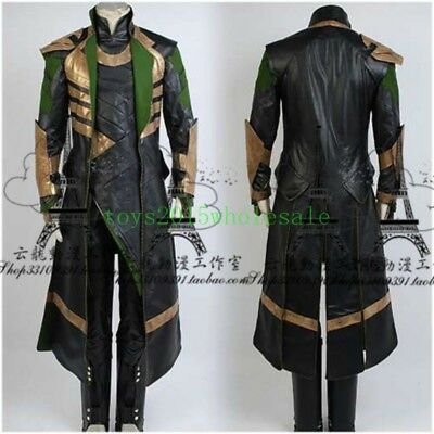 Handsome The Avengers Thor Loki Costume Adult Size Cos Party Dress Cosplay - Costume Loki
