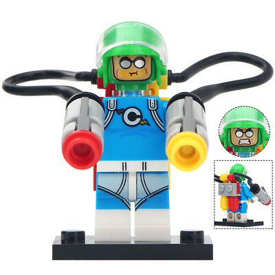 vel DC Comics Villain Lego Moc Minifigure Gift For Kids (Condiment King)