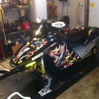 ski-doo and trailer package