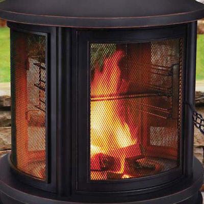 Outdoor FirePit Cooking Pit Garden Burner Fire Heat Grill Northwest Sourcing