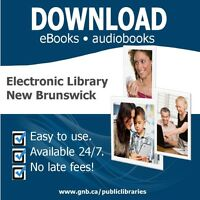 FREE E-BOOK/COMPUTER DROP-IN CLINICS, SaintJohnFreePublicLibrary