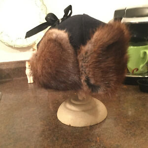 PRICE REDUCED! Vintage muskrat trapper hats for sale