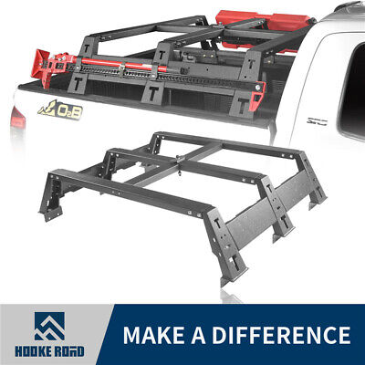 Hooke Road High Bed Rack Top Luggage Baggage Carrier For Toyota Tundra 2014-2019